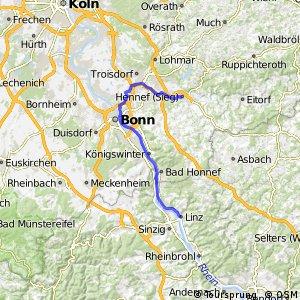 Siegtal - Linz am Rhein