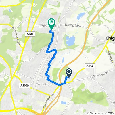 37 Latchingdon Gardens, Woodford Green to 25–63 Queen's Road, Buckhurst Hill