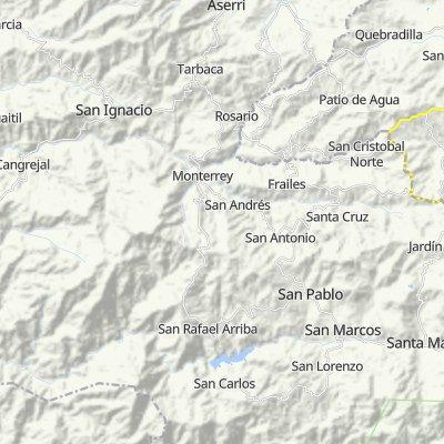 Ruta a San Carlos