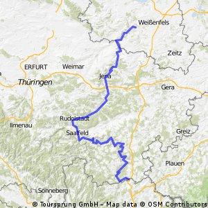 Saale Radwanderweg