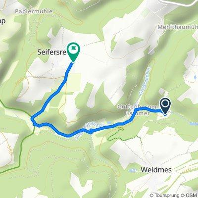 Easy ride in Grafengehaig