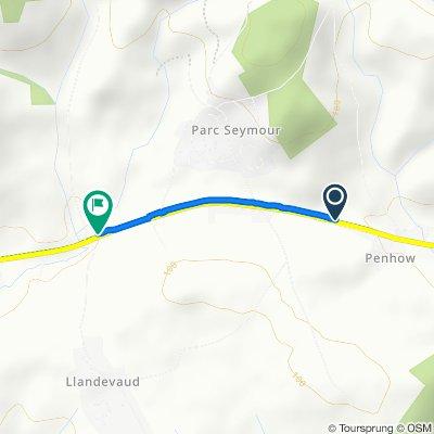 A48, Caldicot to A48, Newport