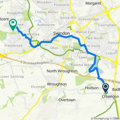 26 Home Close, Swindon to 108 Walter Close, Swindon