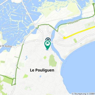 De 3Bis–8 Rue du Lieutenant Lebert, Le Pouliguen à 7 Rue du Bois, Le Pouliguen