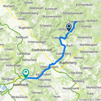 Steady ride in Kulmbach