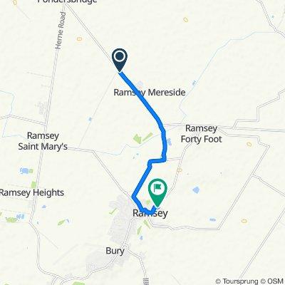 350 Oilmills Road, Huntingdon to 9 Oates Way, Huntingdon