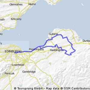 run to Garvald, 11 Sept 2010