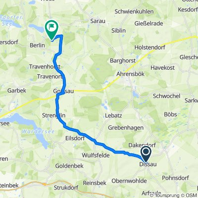 K52 80, Stockelsdorf nach Bahrenkrug, Seedorf
