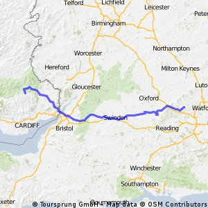 High Wycombe to Ebbw Vale