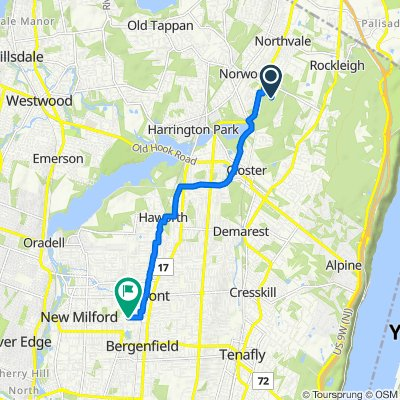 335 Chestnut St, Norwood to 111 Blauvelt Ave, Bergenfield
