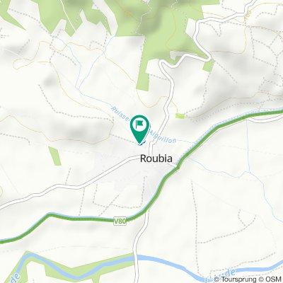 De 16 Chemin d'Olonzac, Roubia à 14 Chemin d'Olonzac, Roubia