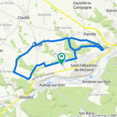Saint-Sébastien-de-Morsent Cycling