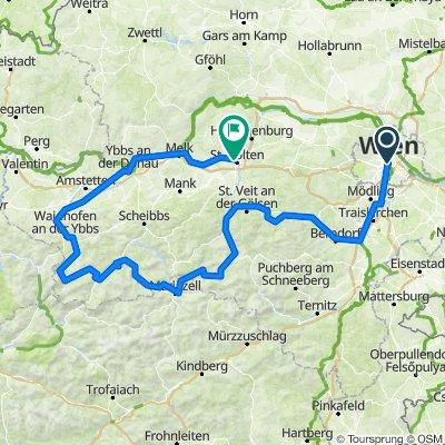 Wien - Mariazell - lunz am see - Ybbs