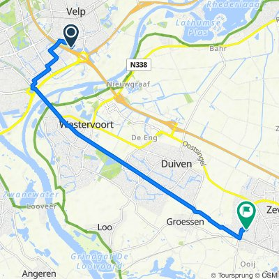 Korte Wal 471, Velp naar Diepenbrockstraat 16–28, Zevenaar
