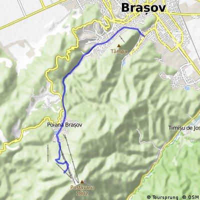 Brasov - Cabana Postavaru