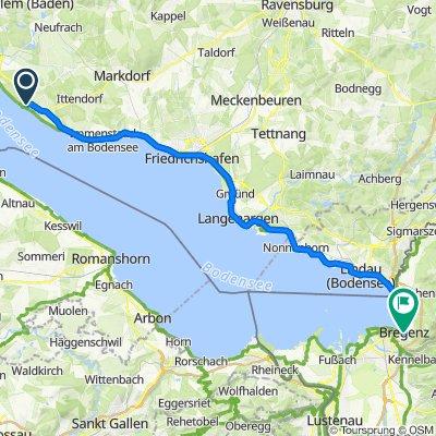 Tag 4: Meersburg - Bregenz