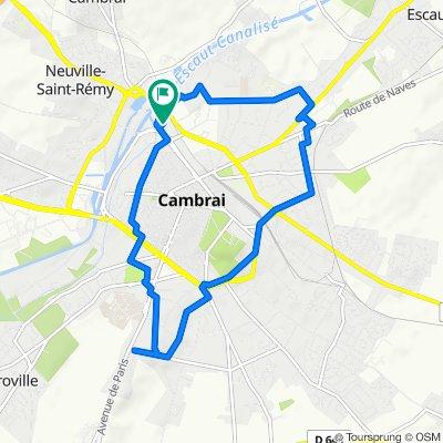 De 188 Boulevard du Général Faidherbe, Cambrai à 186 Boulevard du Général Faidherbe, Cambrai