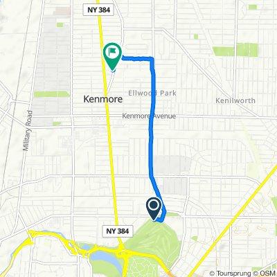 Nottingham Terrace 2, Buffalo to Delaware Road 160, Kenmore
