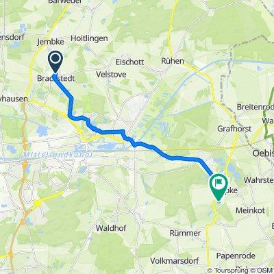 Route von Maschring 27, Wolfsburg