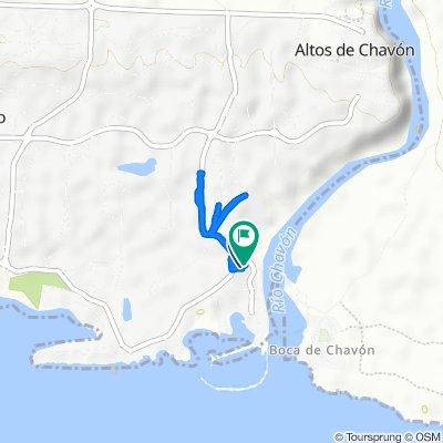 Route to Carretera a La Marina, La Romana
