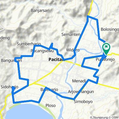 Jalan Pacitan - Lorok, Pacitan to Jalan Pacitan - Lorok, Pacitan