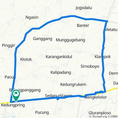 gowes in Balongpanggang