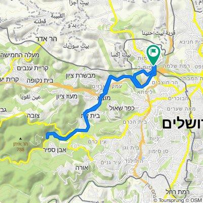 Jerusalem (Ramot) - Sataf -Jerusalem (Ramot)