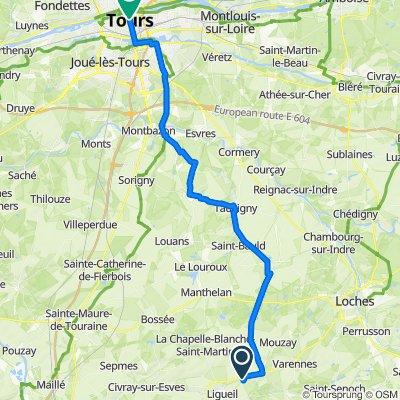 De La Touche, Ligueil à 2 Place Jean Jaurès, Tours
