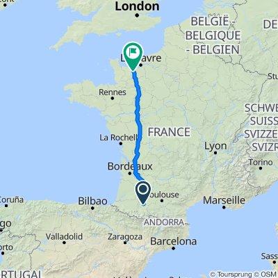 Baylegat, Estampures to Place Saint-Sauveur 34, Caen