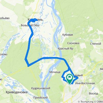 рейс Новосибирск-колывань и обратно