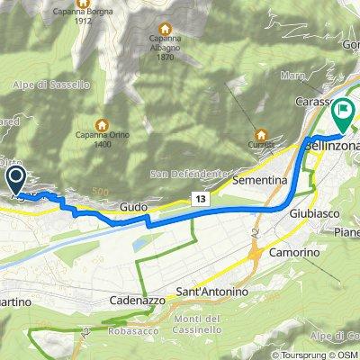 Via Agarone 67  Bellinzona