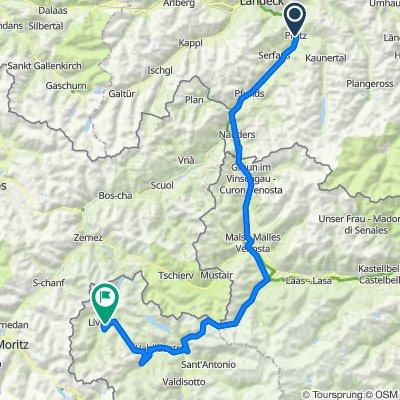 5 tappa traversata delle alpi