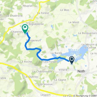 De 2 Beaulieu, Noth à Peuferier, Saint-Agnant-de-Versillat