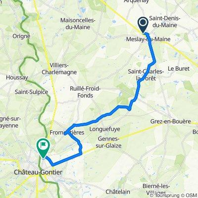 Itinéraire vers 22 Route de Laval, Azé