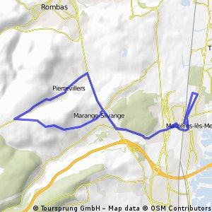 Maizieres - Pierreviller - Marange