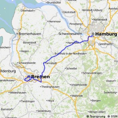 Hamburg - Bremen
