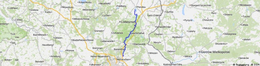 Berlin-Usedom-Radweg Teil 1