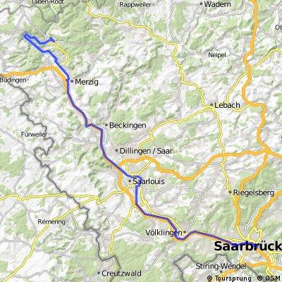 Schlemmertour Saarland Tag 1
