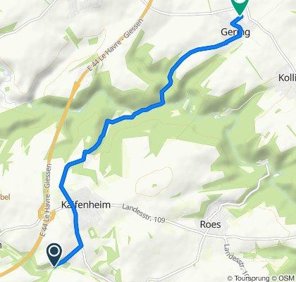Unnamed Road, Kaifenheim nach In der Acht 18, Gering