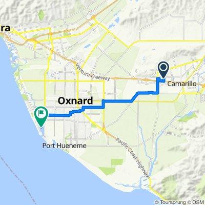 555 Rosewood to Oxnard