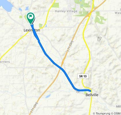 Moderate route in Lexington