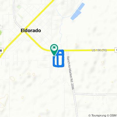 202 Lea St, Eldorado to 202 Lea St, Eldorado