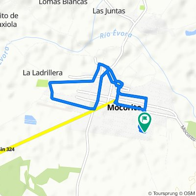 De Calle Enrique González 65–105, Mocorito a Calle Enrique González 65–105, Mocorito