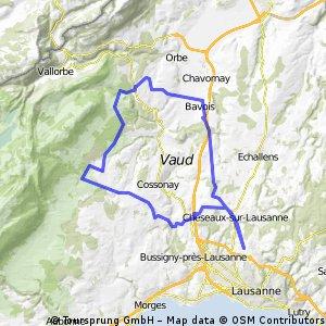 62 km: L-Isle - Romainmôtier - Bavois