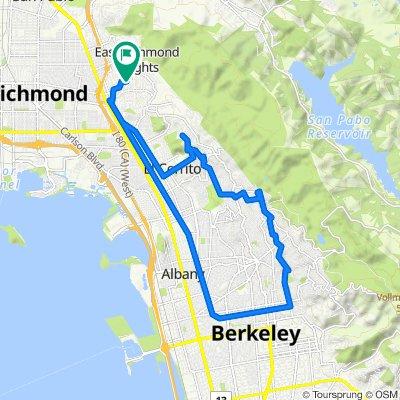 606 Sonoma St, Richmond to 5702 Hazel Ave, Richmond