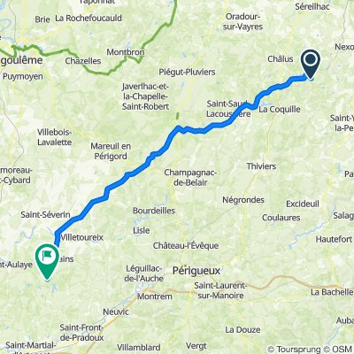 6A Impasse de la Jaurie, Ladignac-le-Long nach D708, La Jemaye