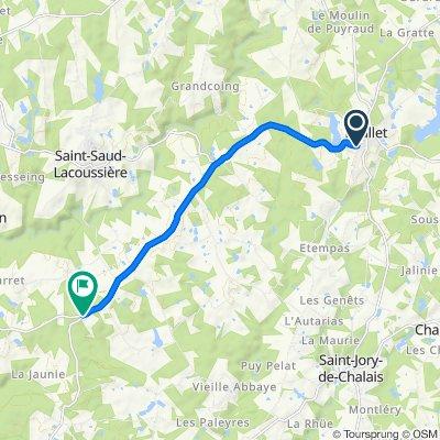 27–29 Avenue de Nontron, Mialet nach D83e1, Milhac-de-Nontron