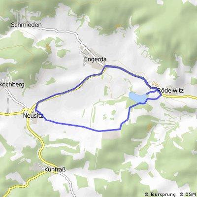 Hexengrund-Triathlon Engerda -10km Runde