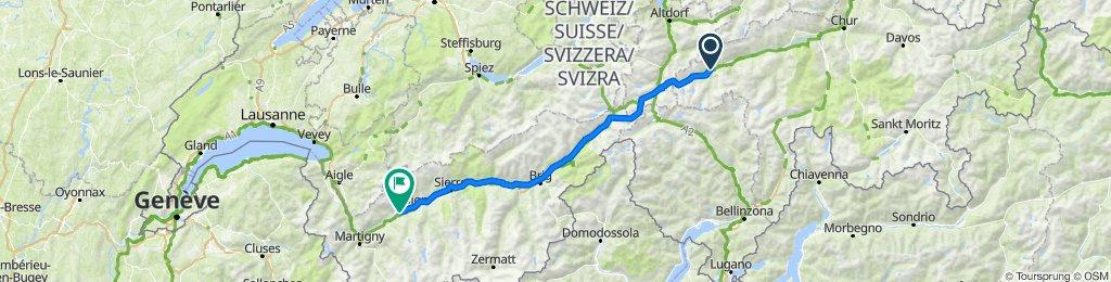 7 tappa traversata delle alpi