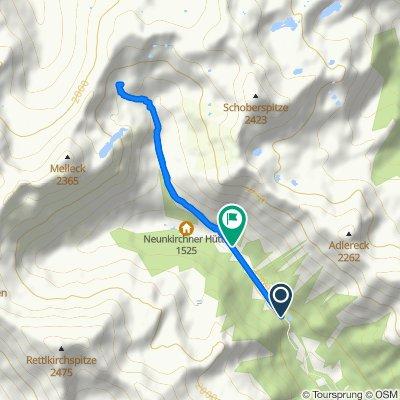 Hinterer Esels Bergweg, Eselsberg nach Eselsberg 37